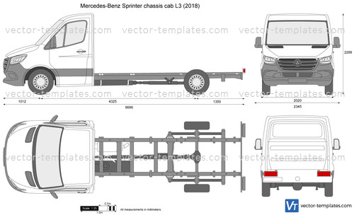 Mercedes-Benz Sprinter chassis cab L3