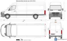 Mercedes-Benz Sprinter van L3H2