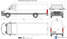 Mercedes-Benz Sprinter van L4H2