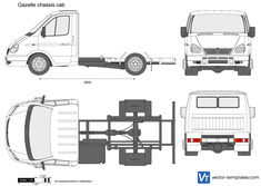 Gazelle chassis cab