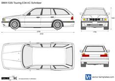 BMW 535i Touring E34 AC Schnitzer