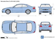Mercedes-Benz CLK55 AMG C209