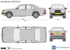 Mercedes-Benz 250D W124