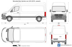 Mercedes-Benz Sprinter van L2H2