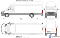 Mercedes-Benz Sprinter van L4H3