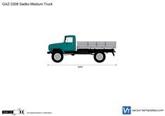 GAZ-3308 Sadko Medium Truck