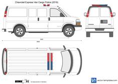 Chevrolet Express Van Cargo Police
