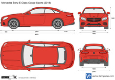 Mercedes-Benz E-Class Coupe Sports