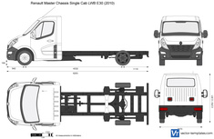 Renault Master Chassis Single Cab LWB E30