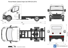 Renault Master Chassis Single Cab SWB E20