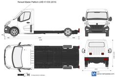 Renault Master Platform LWB H1 E30
