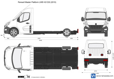 Renault Master Platform LWB H2 E30