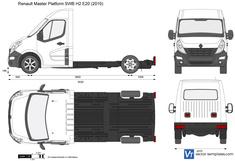 Renault Master Platform SWB H2 E20