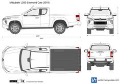 Mitsubishi L200 Extended Cab