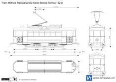 Tram Motrice Tranviaria 502 Serie Storica Torino