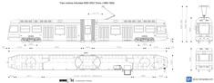 Tram motrice Articolata 5000 5053 Torino