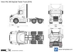 Volvo VNL 300 DayCab Tractor Truck