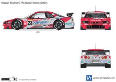 Nissan Skyline GTR Zanavi Nismo