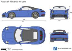 Porsche 911 4S Cabriolet 992