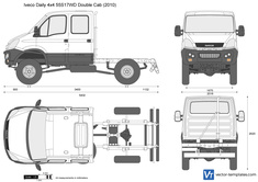 Iveco Daily 4x4 55S17WD Double Cab