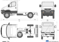 Iveco Daily 4x4 55S17WEEV