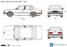 BMW 3-Series 5-Door E30