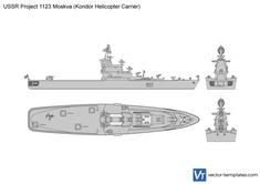 USSR Project 1123 Moskva (Kondor Helicopter Carrier)