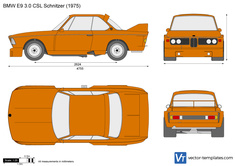 BMW 3.0 CSL Schnitzer E9
