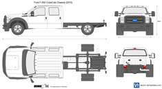 Ford F-550 CrewCab Chassis