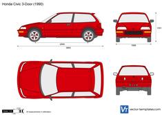 Honda Civic 3-Door ED