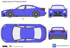 Mazda Atenza Gr.3 Road Car
