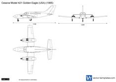 Cessna Model 421 Golden Eagle (USA)