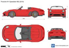 Porsche 911 Speedster 992