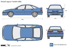 Renault Laguna I Facelift