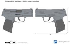 Sig Sauer P365 9mm Micro Compact Striker-Fired Pistol