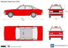 Mitsubishi Galant Taxi