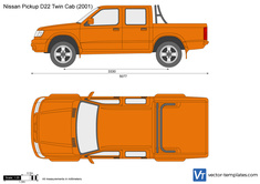 Nissan Pickup D22 Twin Cab