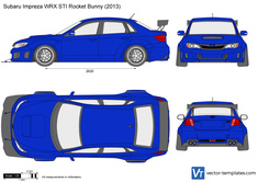 Subaru Impreza WRX STI Rocket Bunny