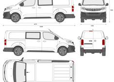 Opel Vivaro Double Cabin L