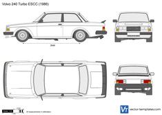 Volvo 240 Turbo ESCC