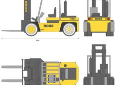 Forklift BOSS H70