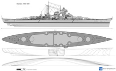 Bismarck 1940-1941