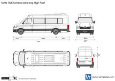 MAN TGE Minibus extra long High Roof