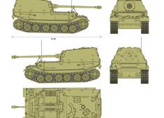 Sd.Kfz. 184 Ferdinand 8.8cm Panzerjager Tiger (P)