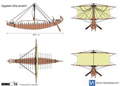 Egyptian Ship ancient