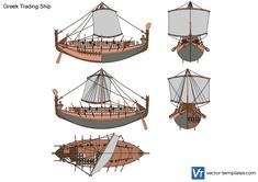 Greek Trading Ship