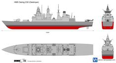 HMS Daring DD32 (Destroyer)