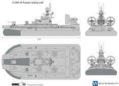 Z-UBR-5A Russian landing craft
