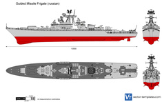 Guided Missile Frigate (russian)