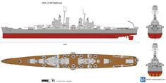USS CA-68 Baltimore